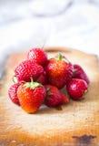 Fresas sabrosas Fotos de archivo libres de regalías