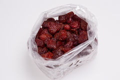 Fresas secas Foto de archivo