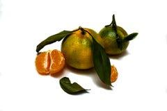 Freschezza del mandarino Immagine Stock Libera da Diritti