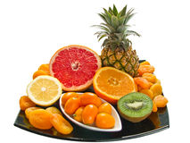 Freschezza della frutta fotografia stock