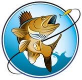 Fresco-água-pesca Imagem de Stock Royalty Free