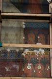 old fresco under reconstruction Royalty Free Stock Photo