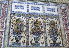 Fresco antigos na parede Imagem de Stock