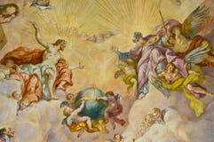 Fresco bíblico Fotografia de Stock Royalty Free