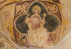 Fresco Baptisterium Saint Johannes Royalty Free Stock Photography