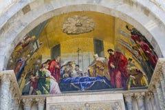 Fresco Basilica di San Marco Photographie stock