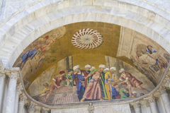 Fresco Basilica di San Marco Royalty Free Stock Photos