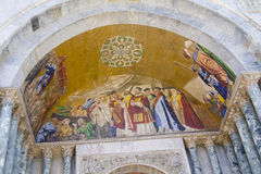 Fresco Basilica di San Marco Royalty Free Stock Images