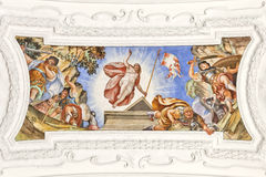 Fresco Benediktbeuern Stock Images