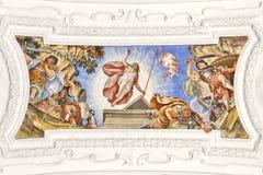 Fresco Benediktbeuern Stock Images