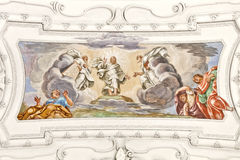 Fresco Benediktbeuern Royalty Free Stock Photography