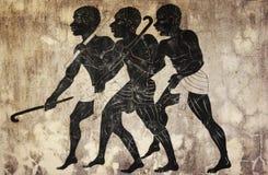 Fresco - cazadores Imagenes de archivo