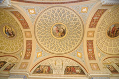 Fresco on a ceiling Royalty Free Stock Image