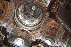 Fresco in cloister Melk royalty free stock photos