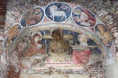 Fresco cristiano foto de archivo