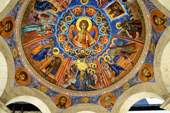 Fresco de Jesús Fotos de archivo