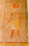 Fresco de Medinat Habu Foto de Stock