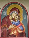Fresco de Ortodox Imagens de Stock