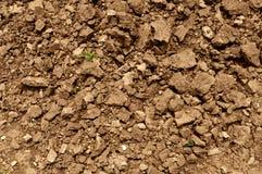 Fresco de tierra de la suciedad arado Imagen de archivo libre de regalías