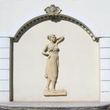 Fresco de una mujer 2 Foto de archivo libre de regalías