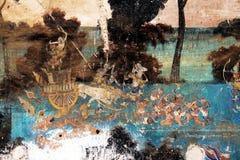Fresco del Khmer Fotos de archivo