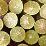 Fresco del limón de la rebanada Imagen de archivo