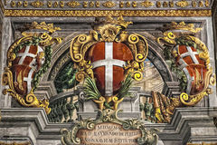 Fresco del palacio Fotos de archivo libres de regalías