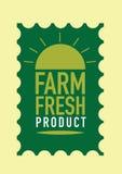Fresco del sello del producto agrícola Fotografía de archivo