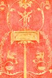 Fresco Detail Royalty Free Stock Images