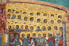 Fresco detail Stock Image