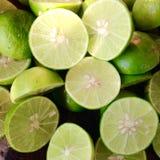 Fresco do limão da fatia Foto de Stock Royalty Free