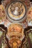Fresco en Stift Melk, Austria Foto de archivo