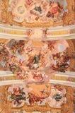 Fresco en Stift Melk, Austria Fotografía de archivo
