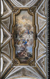 Fresco by Francesco Solimena in the sacristy of San Domenico Mag Royalty Free Stock Images
