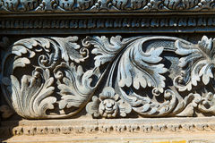 Fresco Hindu temple complex in Bali, indonesia Royalty Free Stock Image