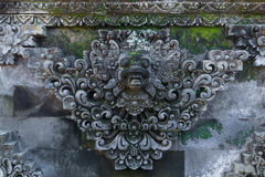 Fresco Hindu temple complex in Bali, indonesia Stock Images