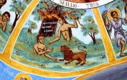 Fresco iconograrhy fotos de stock