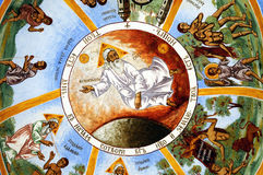 Fresco iconograrhy Stock Images