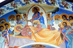Fresco iconograrhy Stock Images