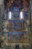 Fresco inside the Akhtala monastery Royalty Free Stock Photography