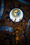 Fresco Inside the cupola of a church Stock Image