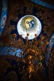 Fresco Inside the cupola of a church Stock Image