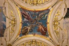 Fresco italiano del renacimiento Imágenes de archivo libres de regalías