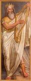 The fresco of king David Royalty Free Stock Photography