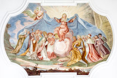 Fresco Maria Royalty Free Stock Images