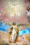 Fresco in monastery Stock Image