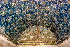 Fresco Mosaics in Ravenna Stock Photos