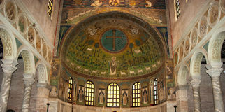 Fresco Mosaics in Ravenna Royalty Free Stock Photos