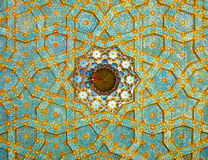 Fresco on Mosque's Ceiling Stock Photography