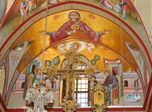 Fresco on Mount Tabor Stock Photos